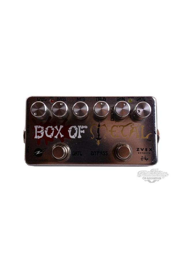 ZVEX Box of Metal High Gain Distortion USED