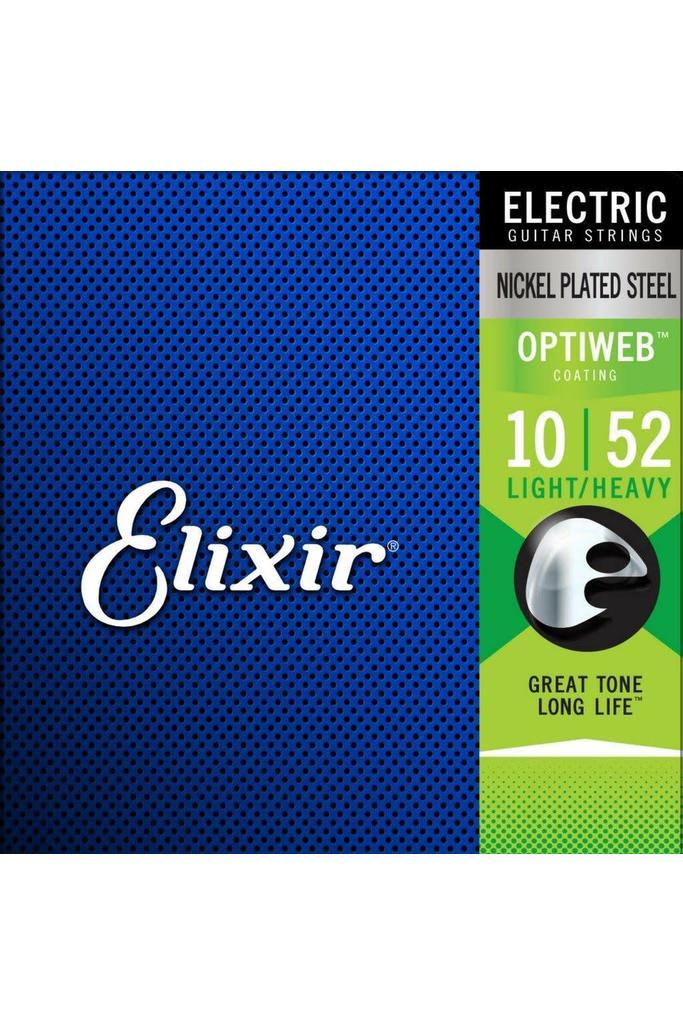 Elixir 19077 Electric NPS Optiweb Light / Heavy 10-52