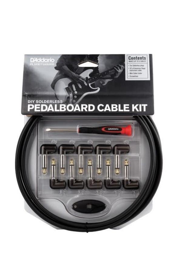 D'Addario DIY Solderless pedalboard Cable Kit