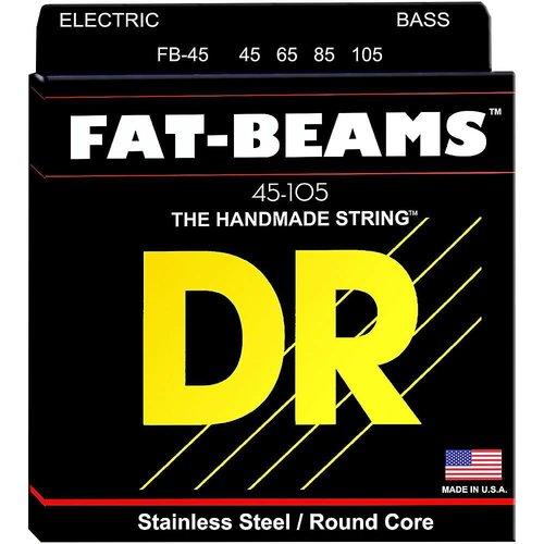 DR Strings DR Strings FB45 Fat-Beams Bass Strings Medium 45-105