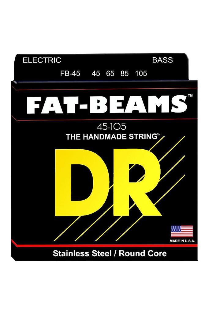DR Strings FB45 Fat-Beams Bass Strings Medium 45-105