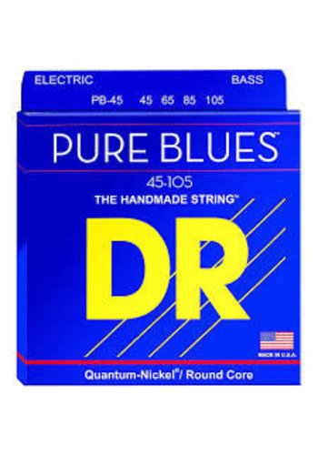 DR Strings DR Strings Pure Blues Bass Medium 45-105