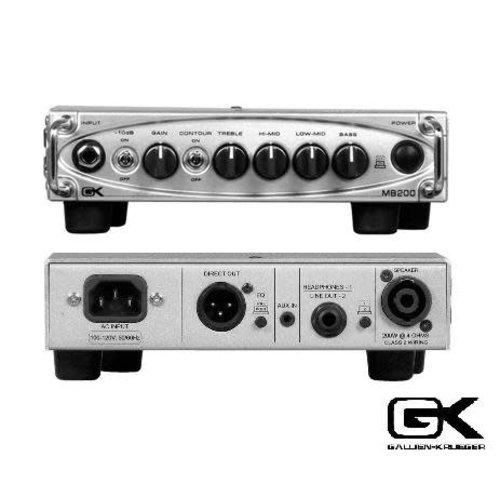 Gallien Krueger MB 200 Head 200 Watt B-stock