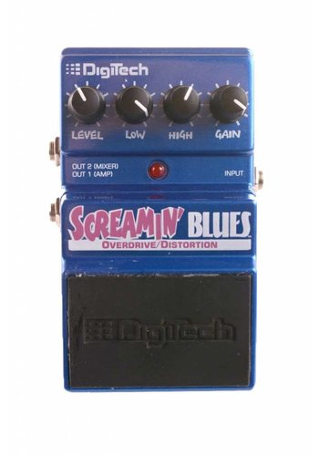 Digitech Digitech Screamin' Blues Overdrive Distortion USED