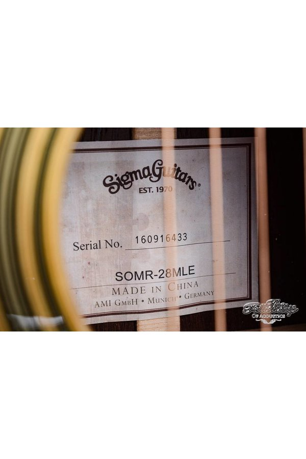Sigma SOMR-28MLE Limited Edition 2014 Mint