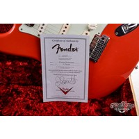 Fender Masterbuilt limited 20th Ann Stratocaster Fiesta Red Jason Smith 2007