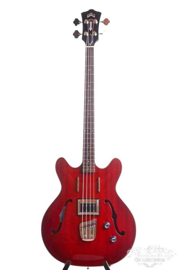 Guild Starfire Bass Cherry Red