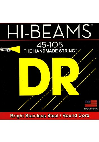 DR Strings DR Strings Hi Beams Medium 4 String Bass Strings 45-105