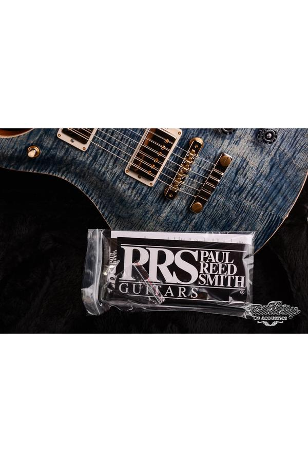PRS McCarty 594 Wood Library 10-Top Maple Whale Blue 58/15LT Humbuckers