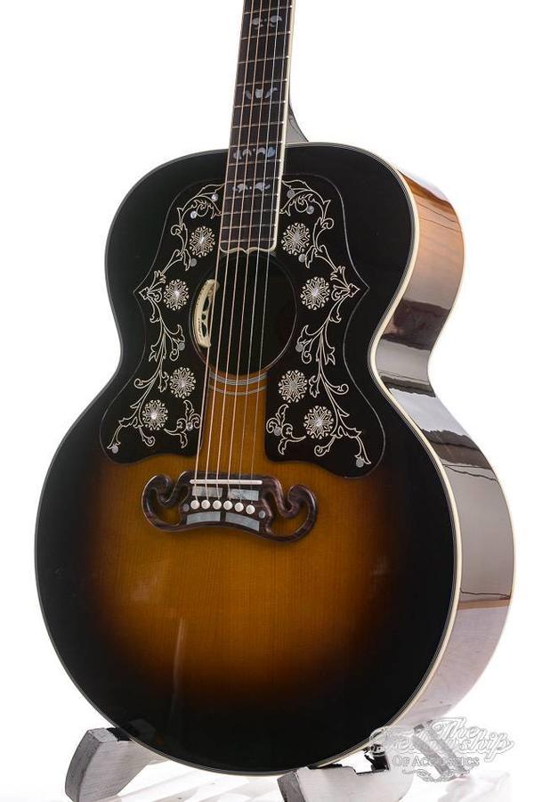 Gibson SJ-200 Bob Dylan Players Edition Vintage Sunburst