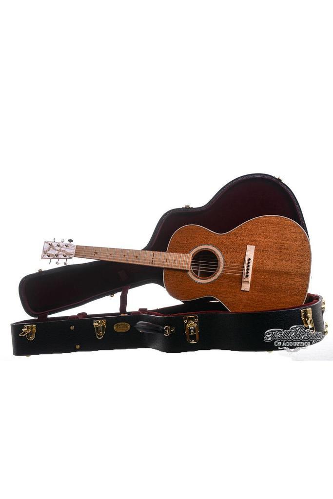 Martin Custom Shop Birdseye Mahogany 0018  Maple Fretboard