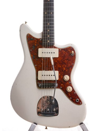 Fender Fender Jazzmaster Olympic White Matching Head 1963