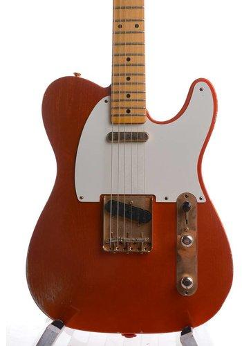 Fender Fender 52' Telecaster Custom shop Tangerine Orange over Silver Relic 2013