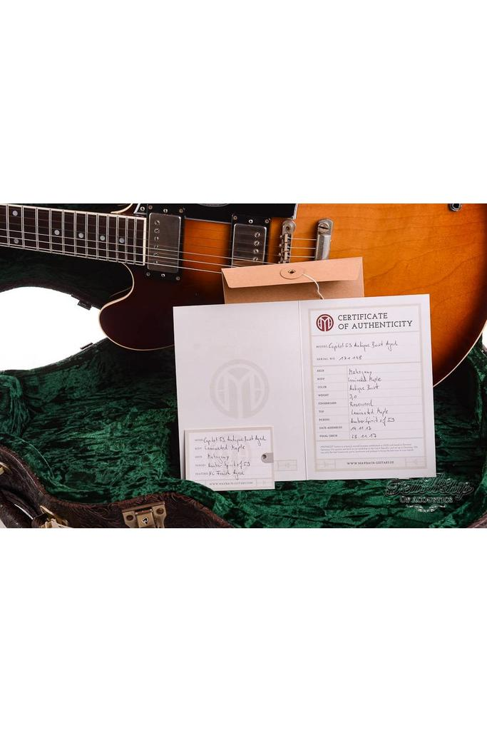 Maybach Capitol 59 Antique Burst Aged