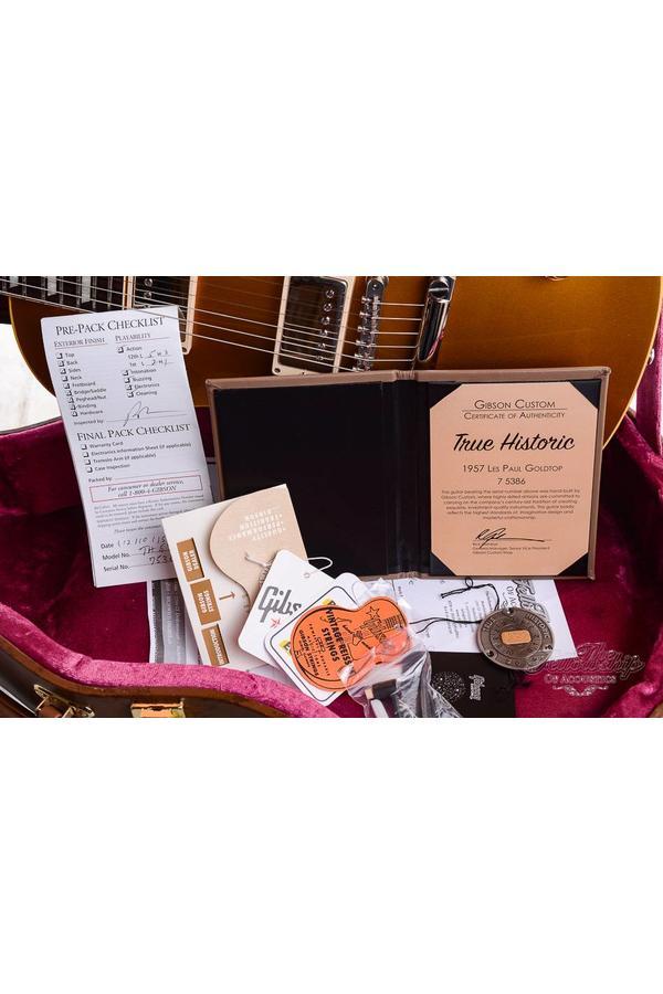 GIbson Les Paul True historic R7 Goldtop 57 Reissue Mint 2015