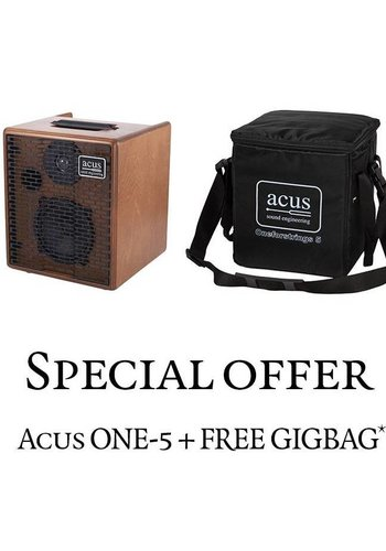 Acus Acus One-5 Wood + free gigbag