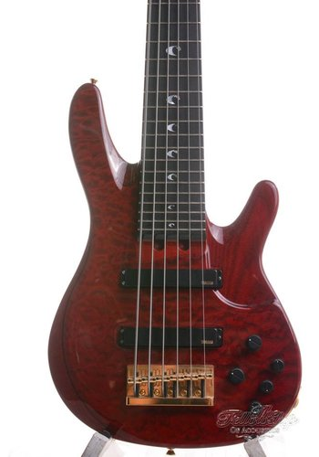 Yamaha Yamaha John Patitucci 6-string Signature Bass Trans Dark Red 2007