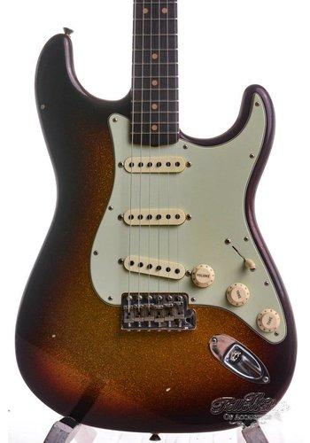 Fender Fender 2017 LTD ED Namm 63 Stratocaster Journeyman 3-Tone Sunburst Sparkle