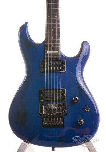 Ibanez Ibanez JS1000 Burnt Transparent Blue HH + Floyd Rose 1997