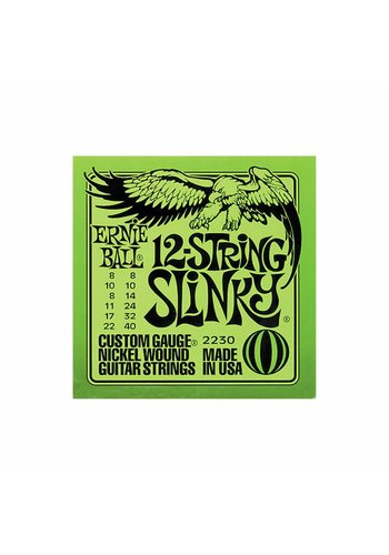 Ernie Ball Ernie Ball 2230 12-string Slinky Nickel Wound Set (08 -40)