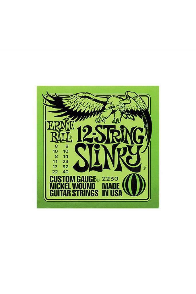 Ernie Ball 2230 .08-.40 12-string Slinky