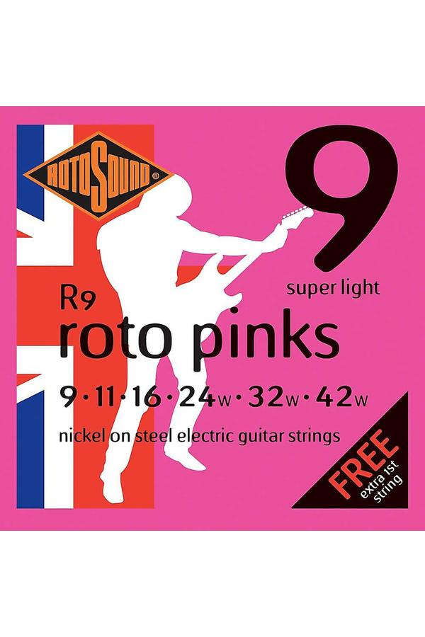 Rotosound R30SL Nickel 12 String Electric Guitar Strings