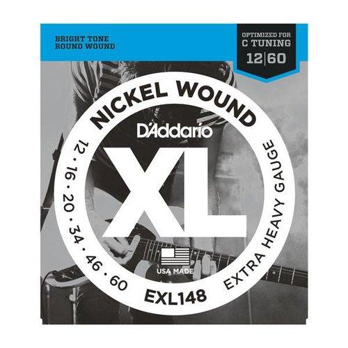 D'Addario D'Addario EXL148 Nickel Wound Extra Heavy Gauge