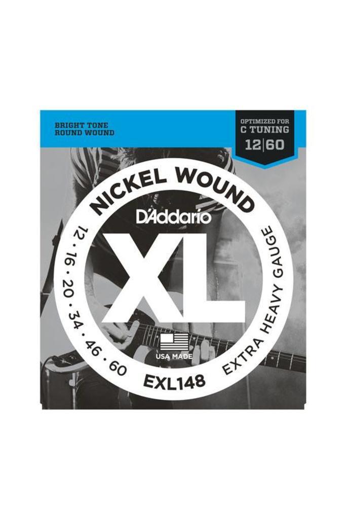 D'Addario EXL148 Nickel Wound Extra Heavy Gauge