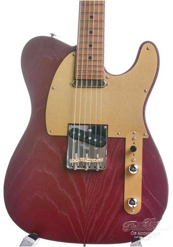 Suhr Suhr Andy Wood Signature Model SS modern T Iron Red