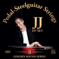 JJ Golden Sound Series Pedal-Steelguitar Strings E9th set