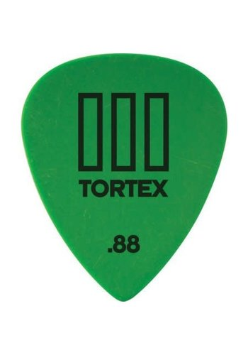 Dunlop Dunlop 462P88 .88mm Tortex T3 Sharp Tip Guitar Picks 12-Pack