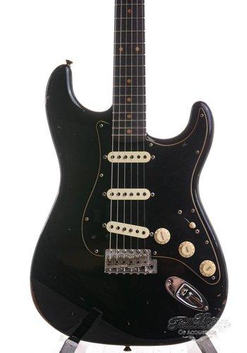 Fender Fender 2017 Custom Shop LTD Black Roasted Dual-Mag Stratocaster Relic