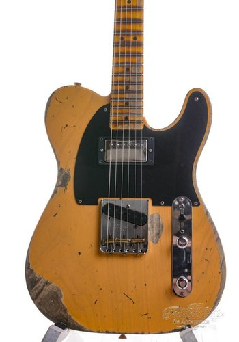 Fender Custom Shop Fender Custom Shop 52 Telecaster Heavy Relic Butterscotch Blonde