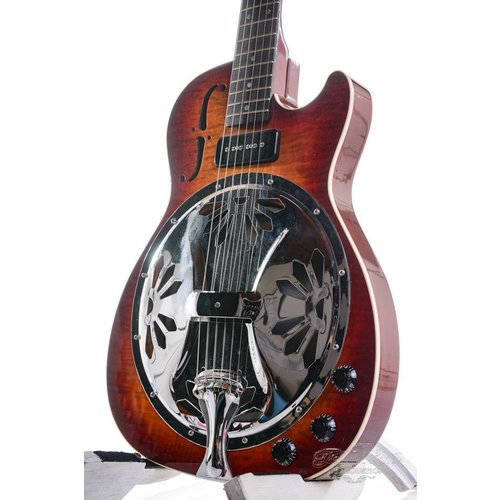 Dobro Dobro Dobrolectric Single Cutaway Cherry burst 2001