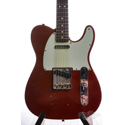 Fender Custom Shop Fender Custom Shop 63 Tele journeyman Relic Cinnamon Red 2016 Mint