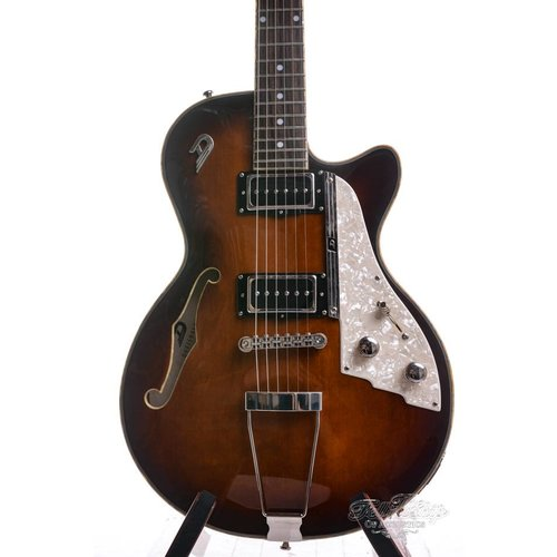 Duesenberg Duesenberg Starplayer TV Hollow Vintage Burst
