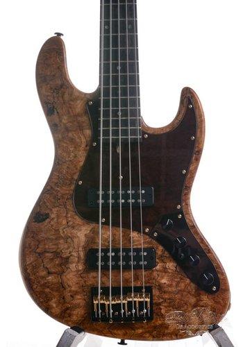 Bacchus Bacchus Woodline Jazz Bass CTM5AC MINT