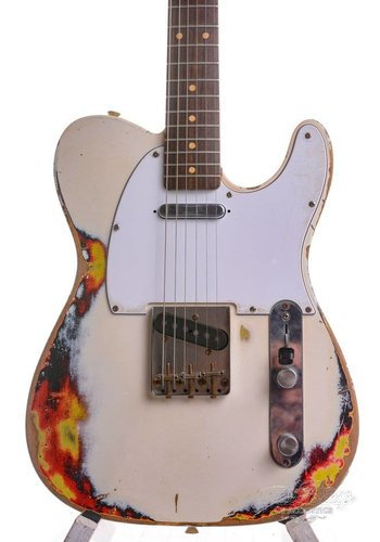 Rebelrelic RebelRelic T-Series 62 Olympic White Over Sunburst 2016