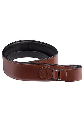 Taylor Taylor Badge Leather Strap Brown