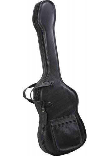 Levys Levy's BL19FP Leather Gig Bag for P-Bass Shaped Electric Bass - Black