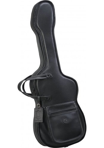 Levys Levy's BL18FS Leather Gig Bag for Strat Shaped Electric Guitar - Black