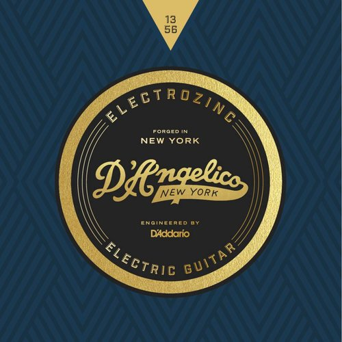 D'Angelico D'Angelico New York Electrozinc Strings 13-56
