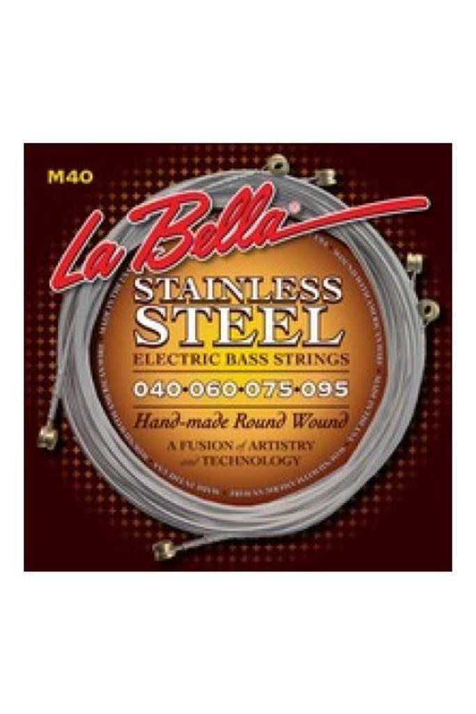 La Bella M40  Electric Bass Strings Roundwound Extra Light