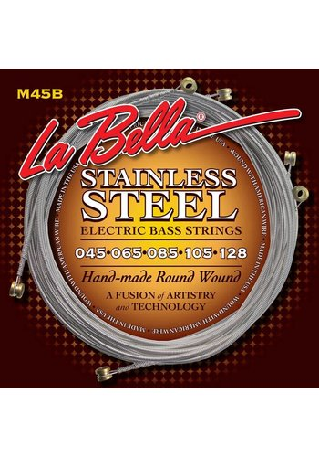 La Bella La Bella M45B  Electric Bass Strings Roundwound Standard Light