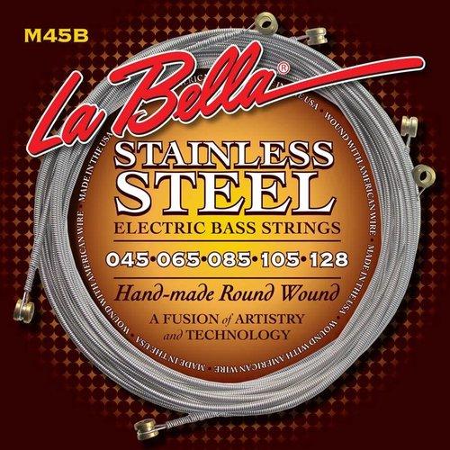La Bella La Bella M45B  Electric Bass Strings Roundwound Standard Light