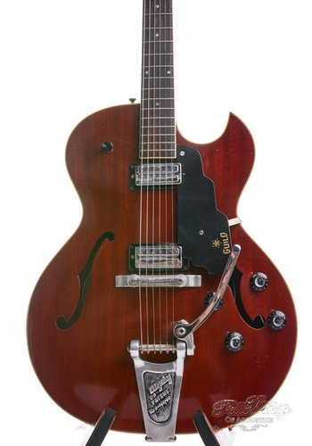 Guild Guild Starfire II 1965 Cherry Red with Bigsby