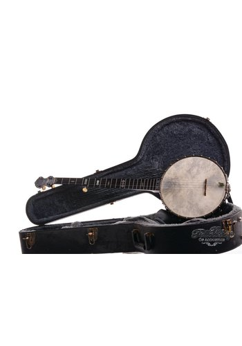 W.A. Cole Cole's Eclipse 5string Open Back Banjo 1903