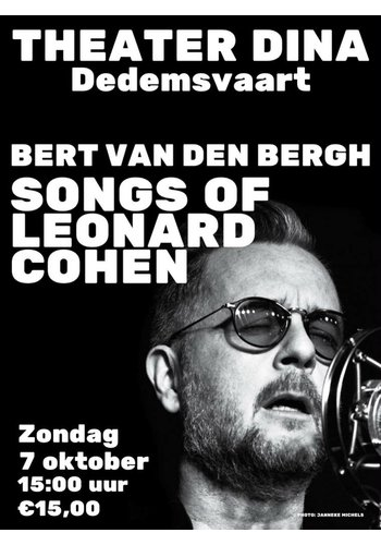 07-10-2018 Bert van den Bergh Concert Theater Dina