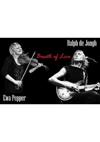 03-02-2018 Ralph de Jongh and Ewa Pepper, Breath of Live