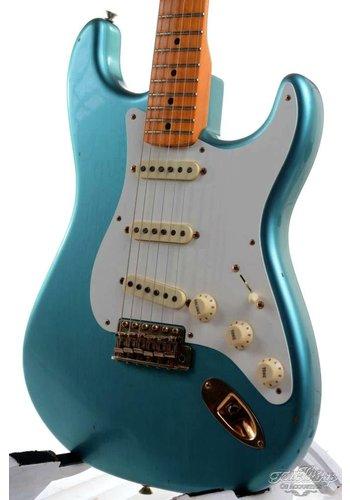 Fender Custom Fender 56 stratocaster Yuriy Shishkov Masterbuilt Journeyman Relic Faded Sherwood Green Metallic